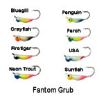 Fantom Grub (Tungsten Steel)